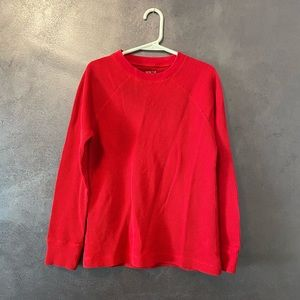 The childrens Place boys red long sleeve shirt